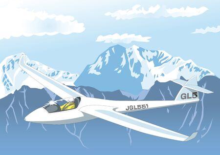 pilot cockpit: Glider