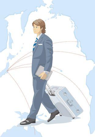 overseas: Overseas business trip Stock Photo