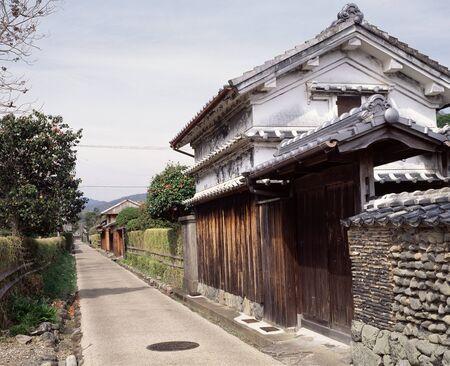 residences: Doi Kuruwa-chu old samurai residences