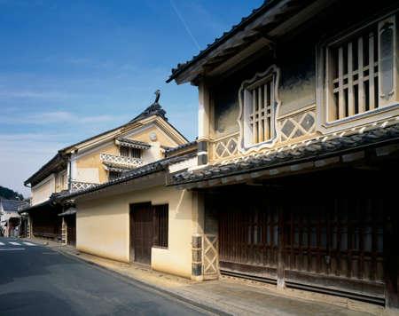 frase: Uchiko de calles UeKaoruware-tei oración compuesta