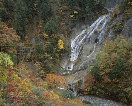 hakusan: UBA Falls Stock Photo