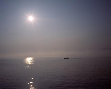freshwater: Lake Shinji freshwater clam picking morning