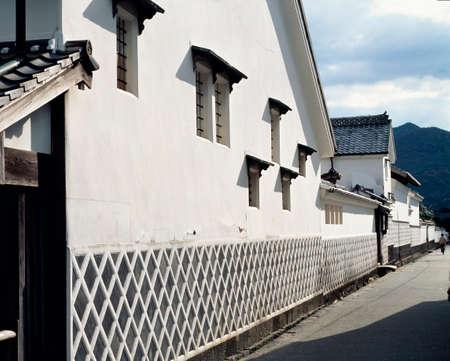 oracion: Familia oraci�n compuesta vivienda Kikuya Foto de archivo