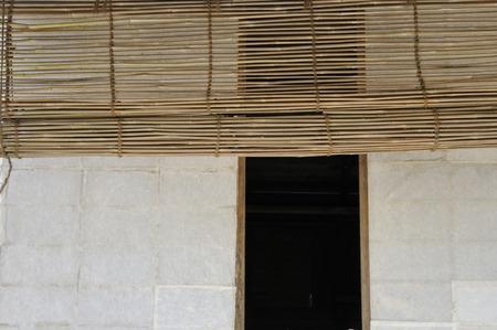 boatman: Bamboo blinds