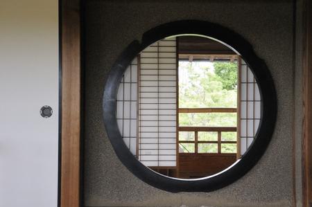 sliding door: Japan and between the sliding door and shoji