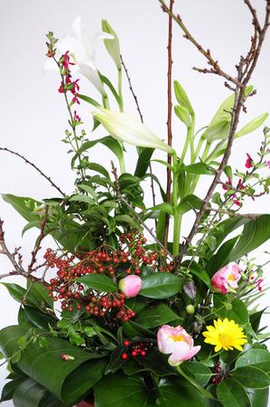 flower arrangements: New Year Flower arrangements