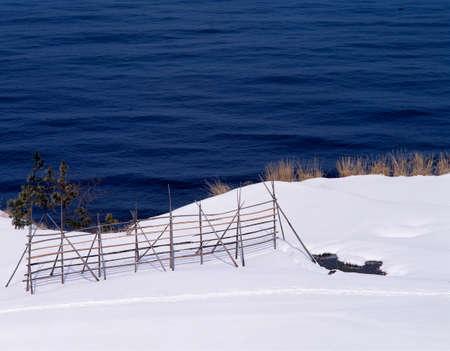 hokuriku: Winter name ship coast