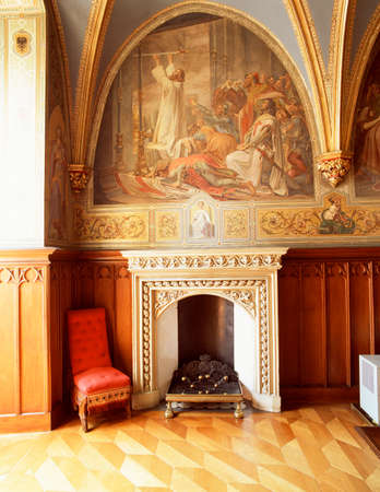 the distinguished: Fireplace