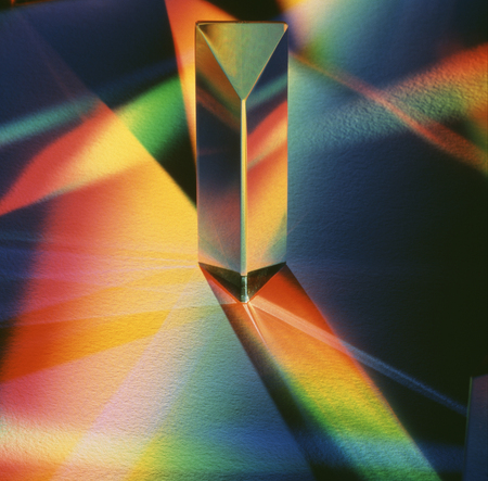 Prisma Stockfoto