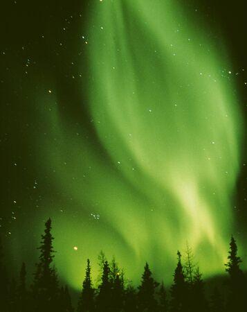 the natural phenomena: Aurora Stock Photo