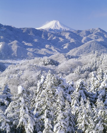 snowscape: Snowscape and Fuji