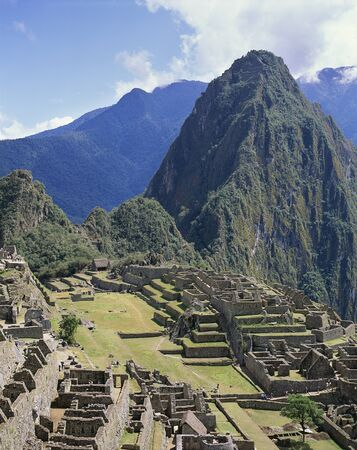machu picchu: Machu Picchu ruins