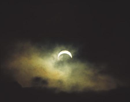 eclipse: Total solar eclipse