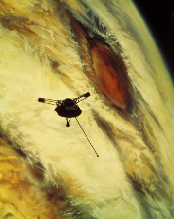 voyager: Great Red Spot and Voyager