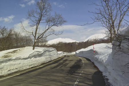 road in winter: Winter road