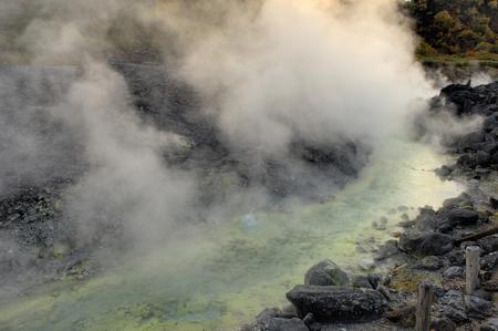 Tamagawa hot springs 写真素材