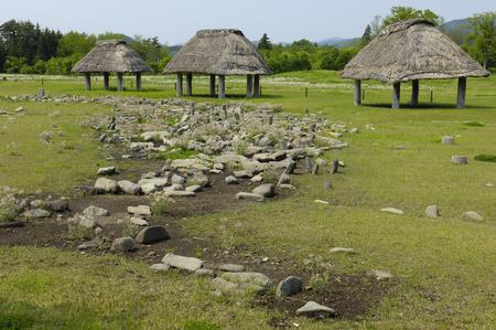 stilt house: Environment stones