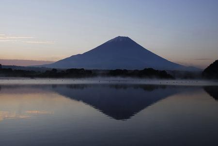 amanecer: Monte Fuji
