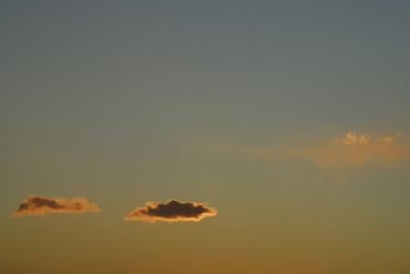cielo atardecer: Sunset sky