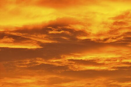 sunset clouds: Sunset clouds Stock Photo