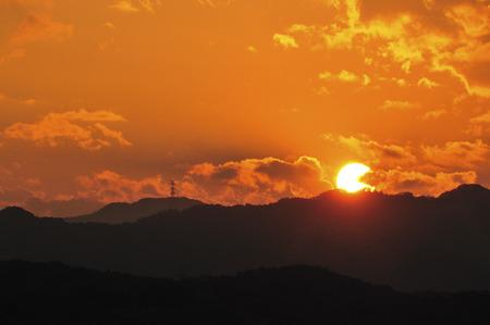 golden  gleam: Sunset sky