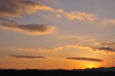 golden  gleam: Sunset Stock Photo