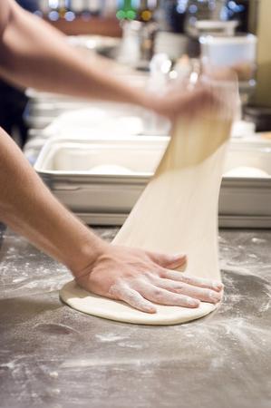 masa: Masa de pizza
