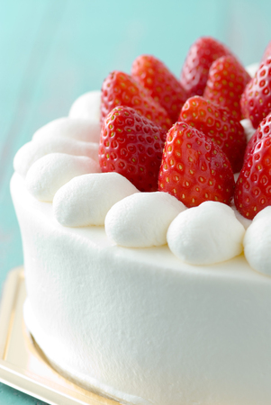 strawberry: Strawberry cake