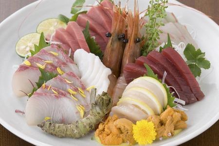 rawness: Sashimi platter