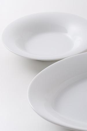 White dish 版權商用圖片