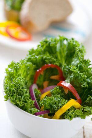 a frill: Salad image