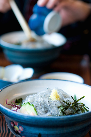 whitebait: Raw whitebait bowl Stock Photo