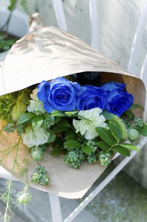blue rose: Blue rose bouquet