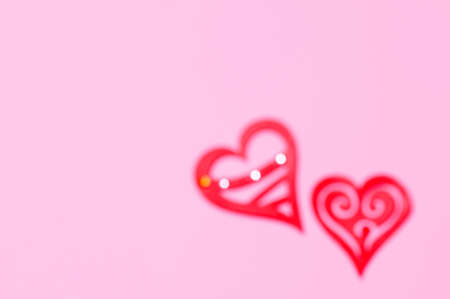 background motif: Images of the heart