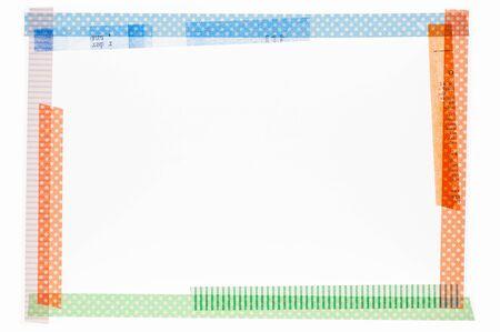 masking: Masking tape frame Stock Photo