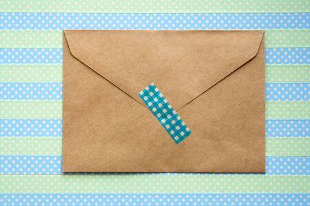 masking: Envelope and masking tape
