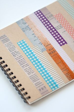 masking tape: Sketchbook and masking tape