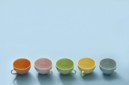 houseware: Colorful cup Stock Photo