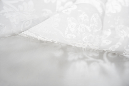 ancestry: Lace fabric Stock Photo