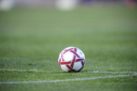 football match lawns: Soccer ball