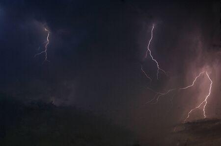 the natural phenomena: Lightning