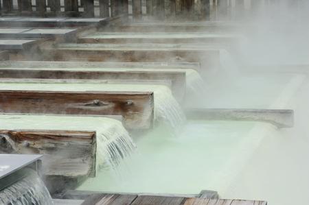 草津温泉 写真素材