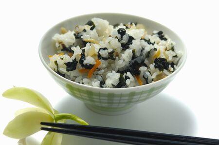 algas marinas: el arroz de la alga marina