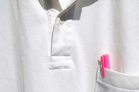 breast pocket: T-shirt