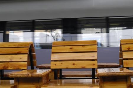 assignation: Bench Stock Photo