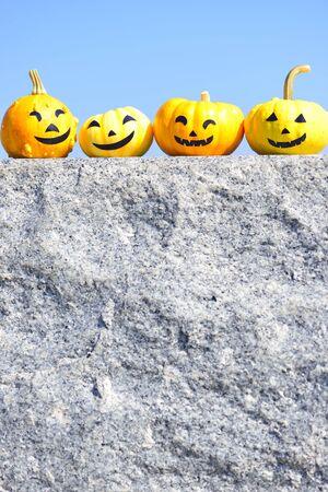 jackolantern: Jackolantern on the stone