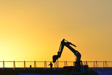 civil engineering: Civil engineering machinery Stock Photo