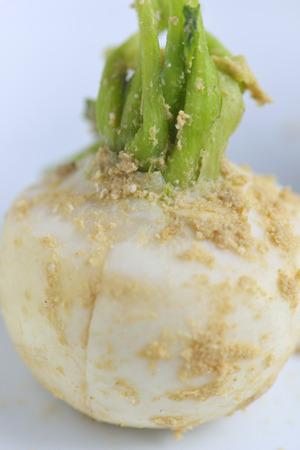 pickled: Bran pickled turnip Stock Photo