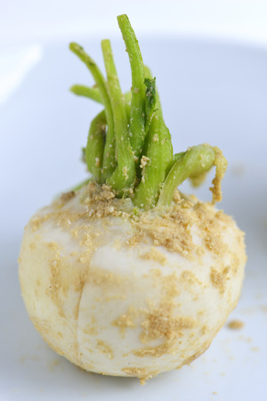 bran: Bran pickled turnip Stock Photo