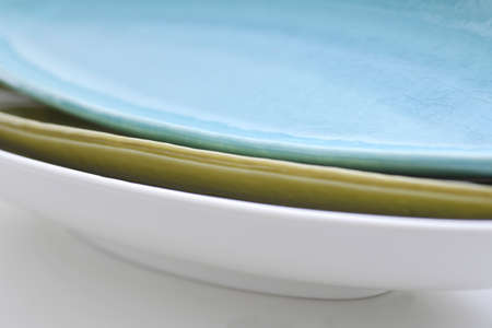 tableware: Superimposed Japanese Tableware Stock Photo